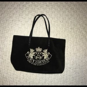 Juicy Couture Velvet Embroidered Tote Pre-owned